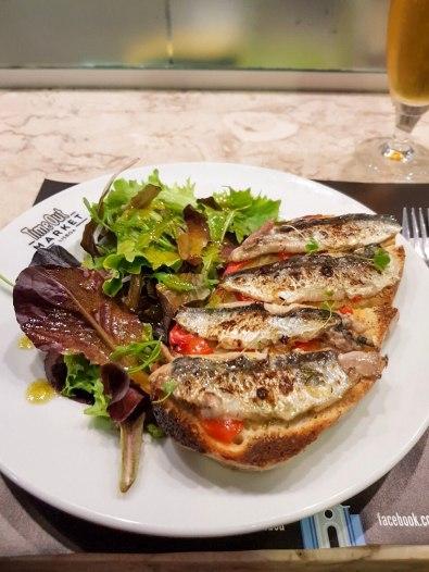 Toasted Sardines