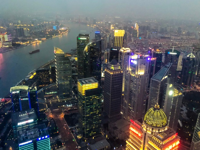 350 m view from Oriental Pearl Tower.JPG